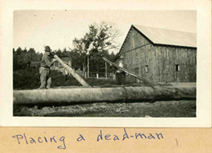 Oiseau Bay - Placing a Deadman